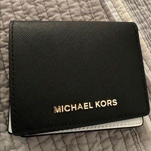 Michael Kors Black/White wallet New